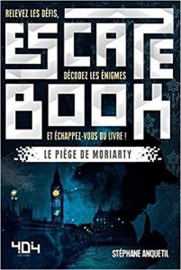 Escape Book, le piège de Moriarty