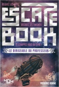 Escape book le dirigeable du professeur